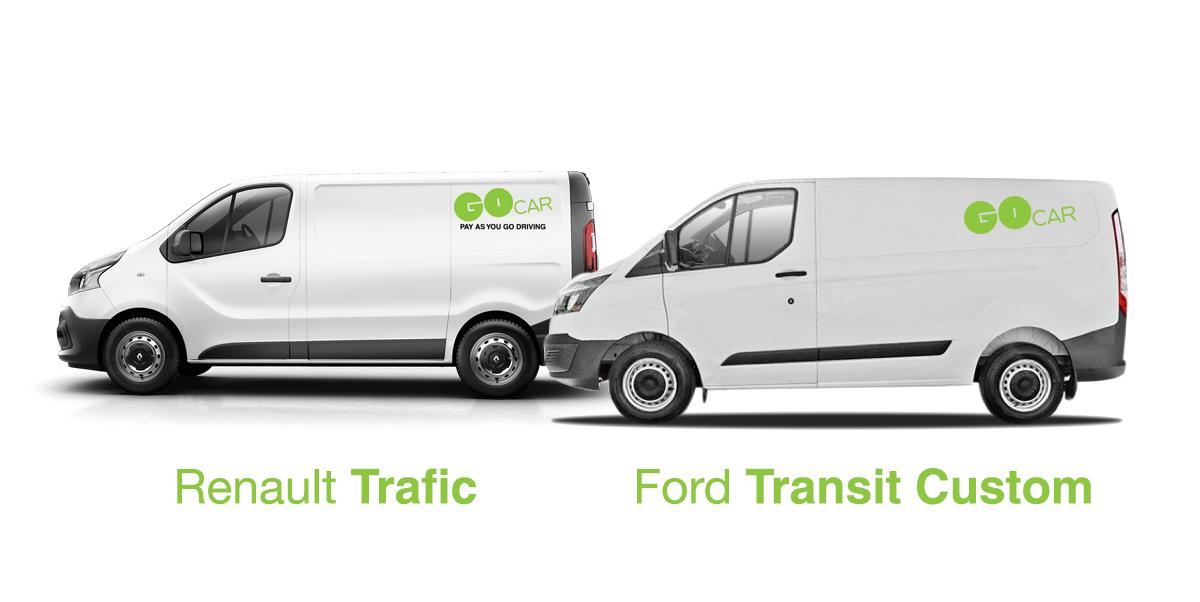 Ford Transit Dimensions >> Van Dimensions Gocar